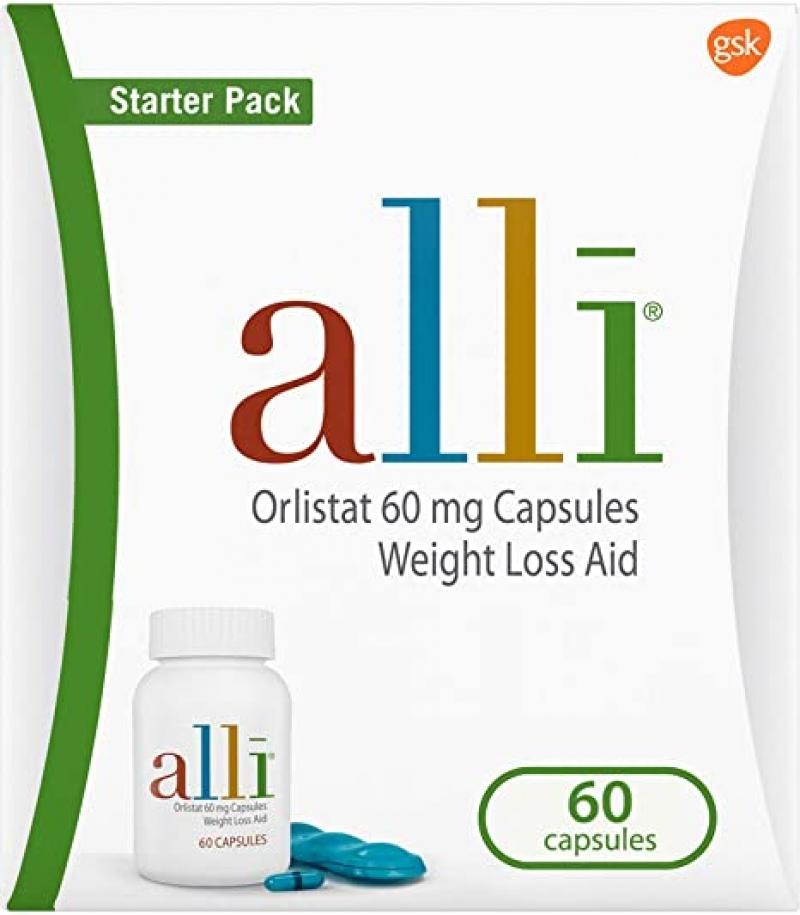 alli 減重藥 (免處方) 60粒 $27.95(原價$39.94)