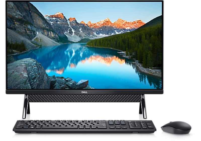 ihocon:  Dell Inspiron 27 7000 FHD Black All-In-One with Bipod Stand Desktop (i5-1135G7 8GB, 256GB SSD, 1TB HDD) 一體式電腦