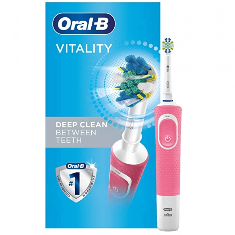 ihocon: Oral-B Vitality FlossAction Electric Toothbrush with Replacement Brush Head電動牙刷