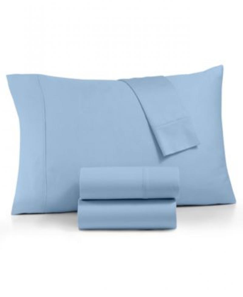 AQ Textiles 4件式 床單, 枕頭套, Queen size -多色可選 $25.99(原價$130)
