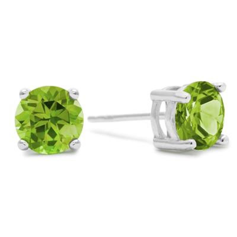 純銀2克拉(總重)橄欖石耳環 $18.89(原價$79)