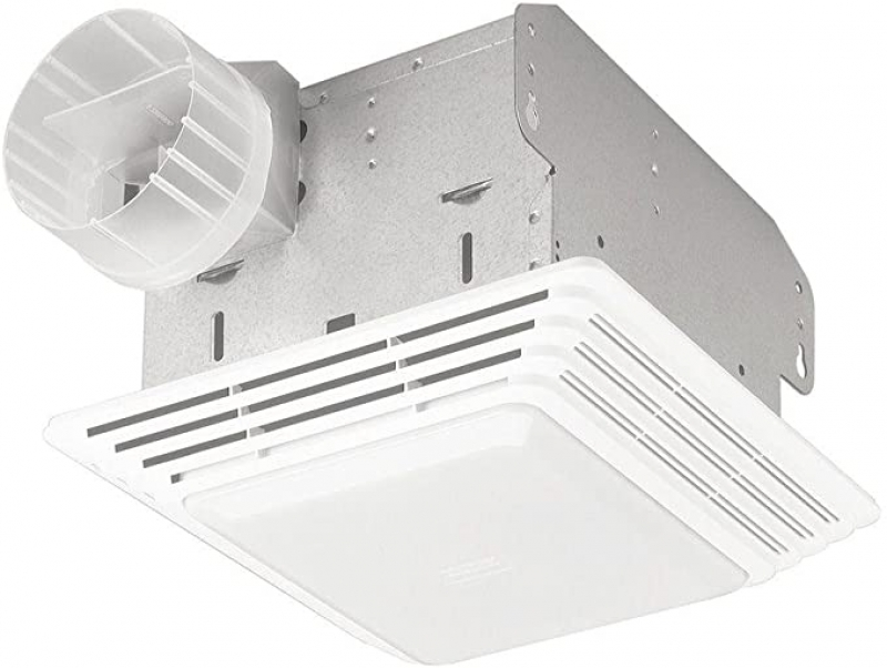 ihocon: Broan-NuTone 678 Exhaust Ventilation Fan and Light Combination for Bathroom and Home, 50 CFM, 2.5 Sones 浴室抽風扇/燈