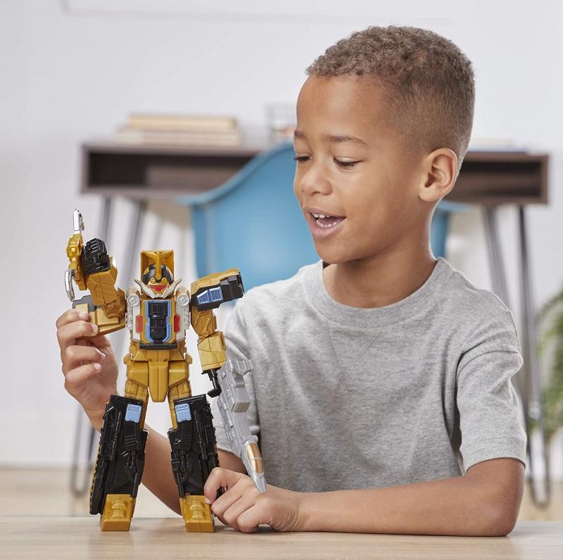 ihocon: 兒童玩具-Power Rangers Beast Morphers Beast Wrecker Zord Action Figure