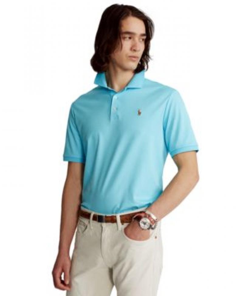 ihocon: Polo Ralph Lauren Men's Classic Fit Soft Cotton 男士短袖 Polo 衫-多色可選