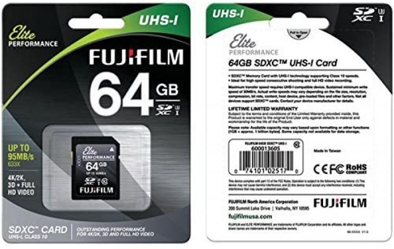 ihocon: Fujifilm Elite Performance - Flash Memory Card - 64 GB 記憶卡