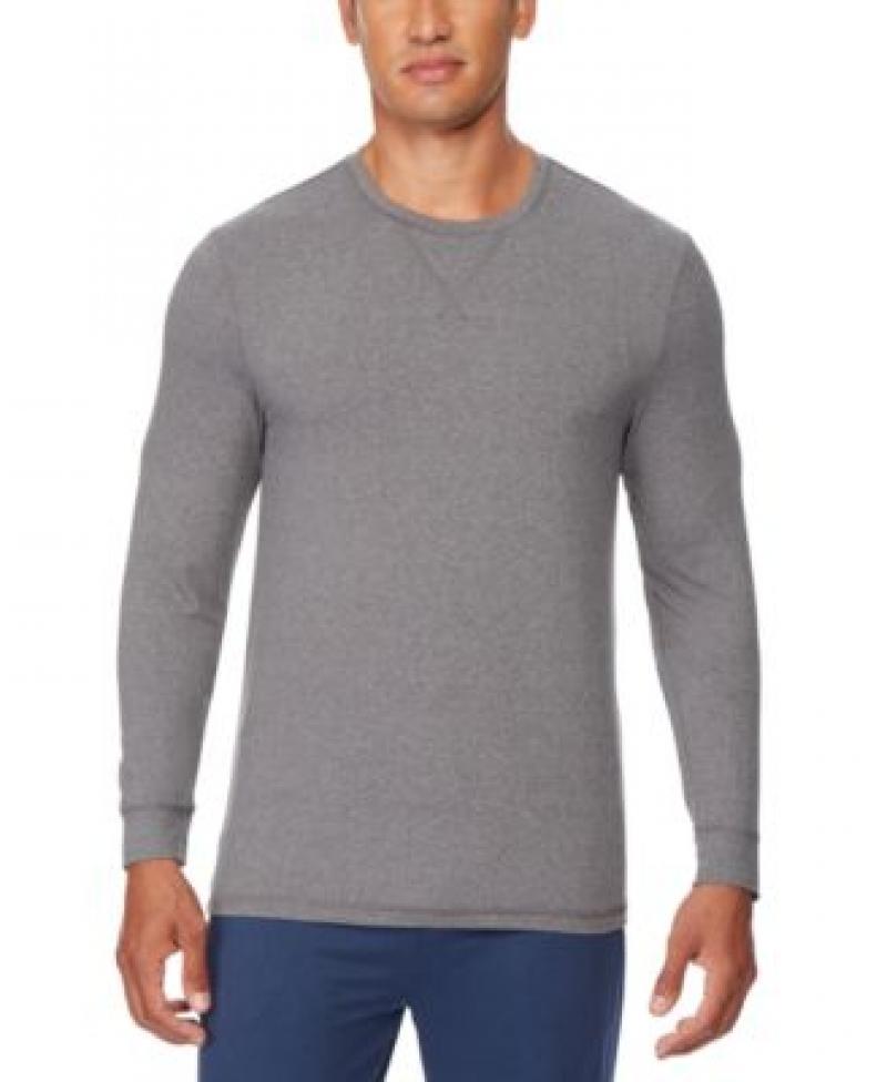 ihocon: 32 Degrees Men's Ultra Lux Long-Sleeve Sleep T-Shirt 男士長袖衫-多色可選