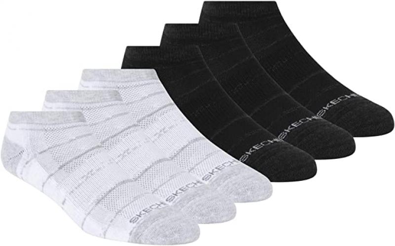 ihocon: Skechers Women's 6 Pack Low Cut Socks  女襪 6雙