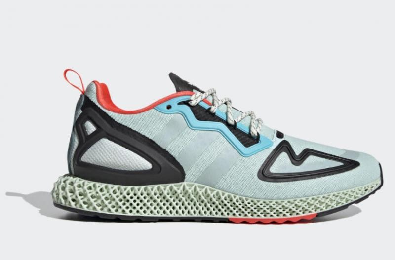 ihocon: adidas Originals ZX 2K 4D Shoes Men's 男鞋