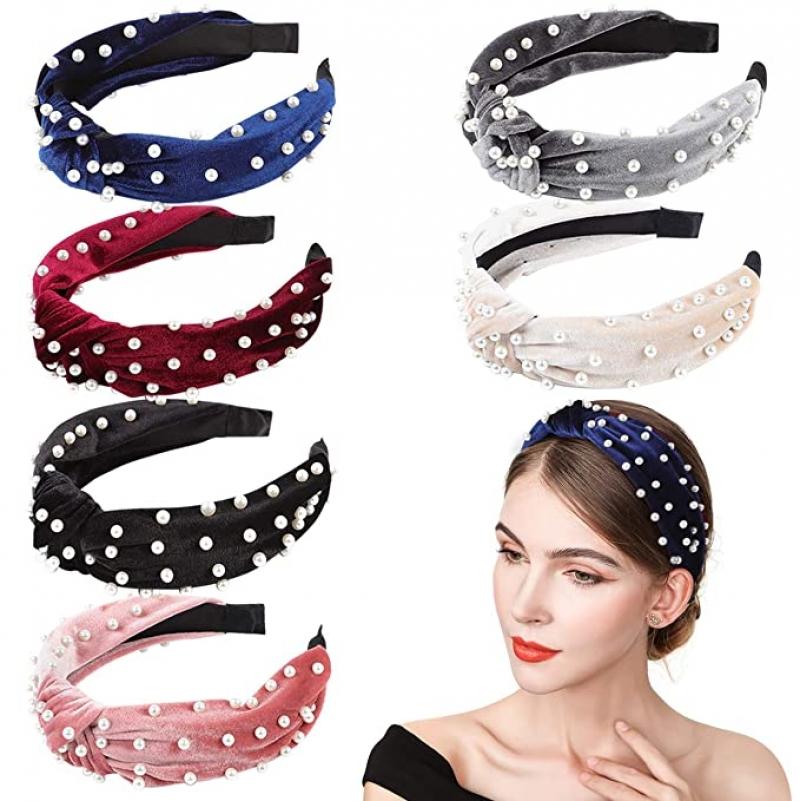 ihocon: InnoGear Headbands for Women, 6 Pack 女士髮箍
