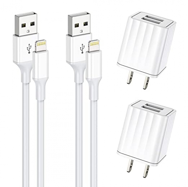 ihocon: Vagavo for iPhone Charger, MFi Certified 充電器+充電線 2組