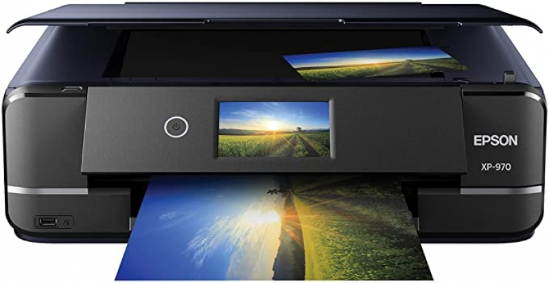 ihocon: Epson Expression Photo XP-970 Wireless Color Photo Printer with Scanner and Copier    無線多功能彩色照片印表機(Print / Copy / Scan)