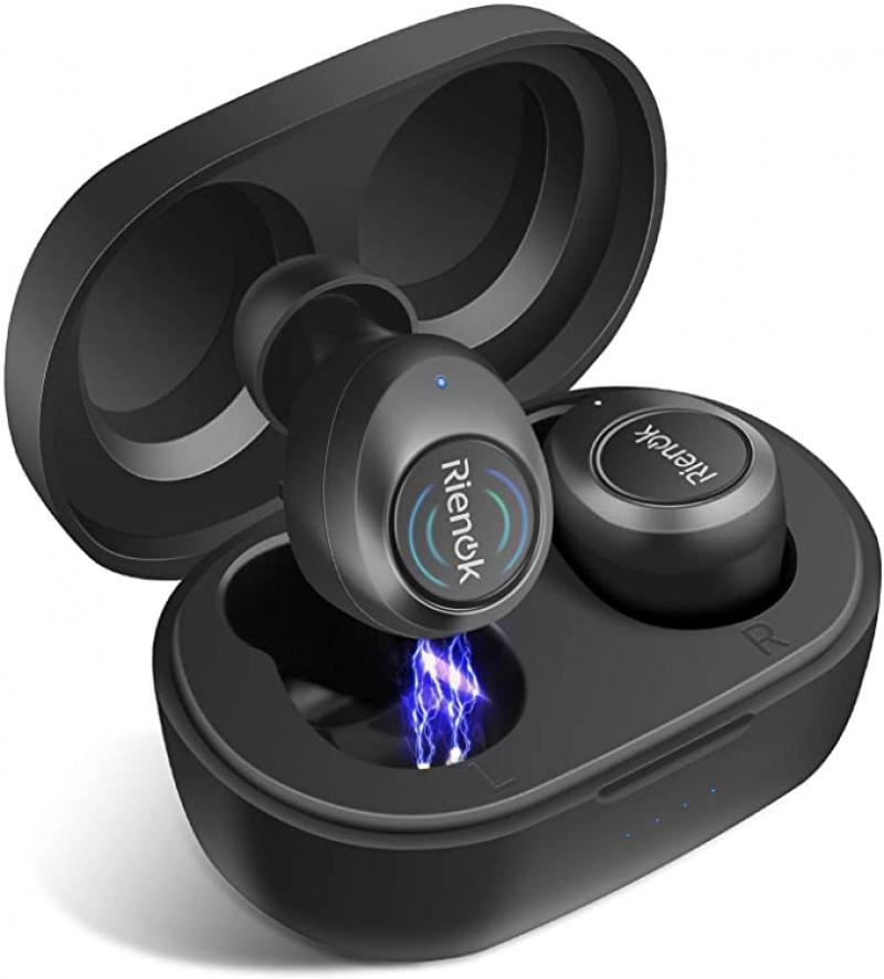 ihocon: [買1送1] RIENOK True Wireless Earbuds 真無線耳機
