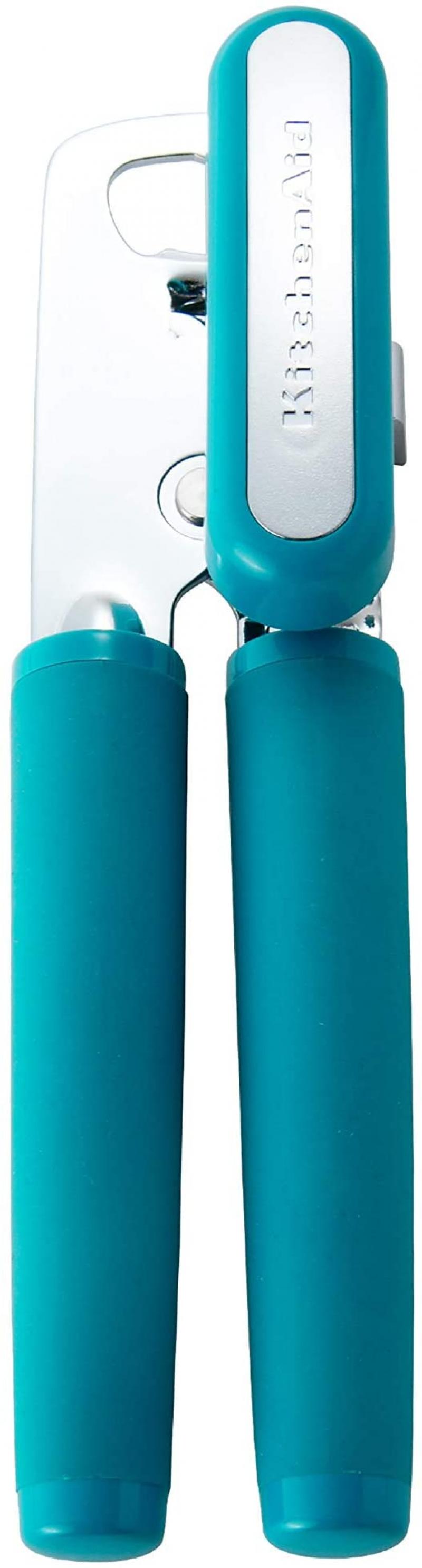 ihocon: KitchenAid Soft Classic Multifunction Can Opener / Bottle Opener, 8.29-Inch, Ocean Drive    多功能開罐/開瓶器