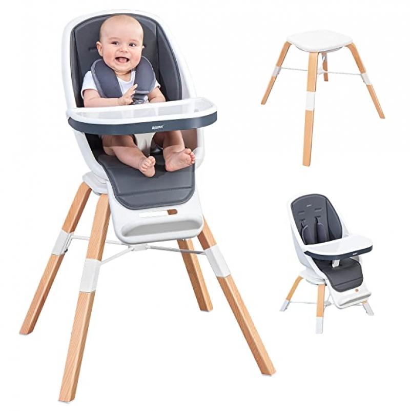 ihocon: RONBEI Baby 6-in-1 High Chair 兒童高腳椅