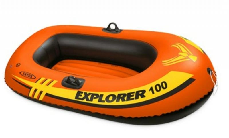 ihocon: Intex Explorer Inflatable Boat 100, 1-Person   單人充氣艇