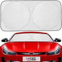 ihocon: IAQWE Windshield Sun Shade 汽車擋風玻璃遮陽板