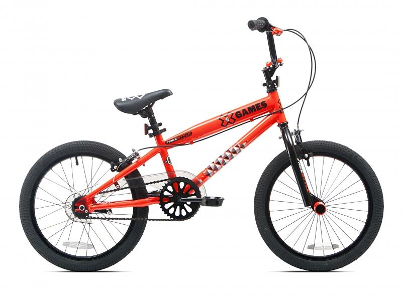 ihocon: X-Games 18 BMX Boy's Bike, Neon Orange 兒童自行車