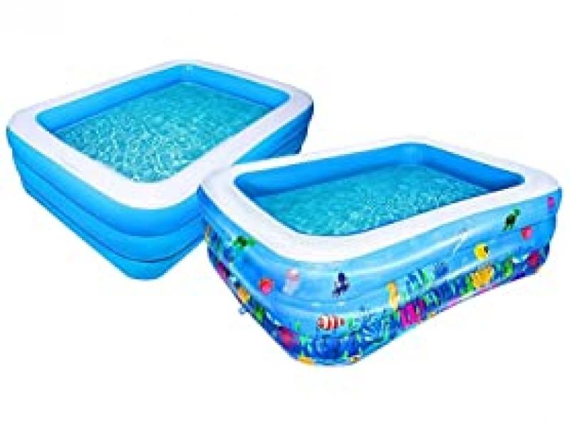 ihocon: AsterOutdoor Inflatable Swimming Pool 充氣泳池-多種尺寸可選