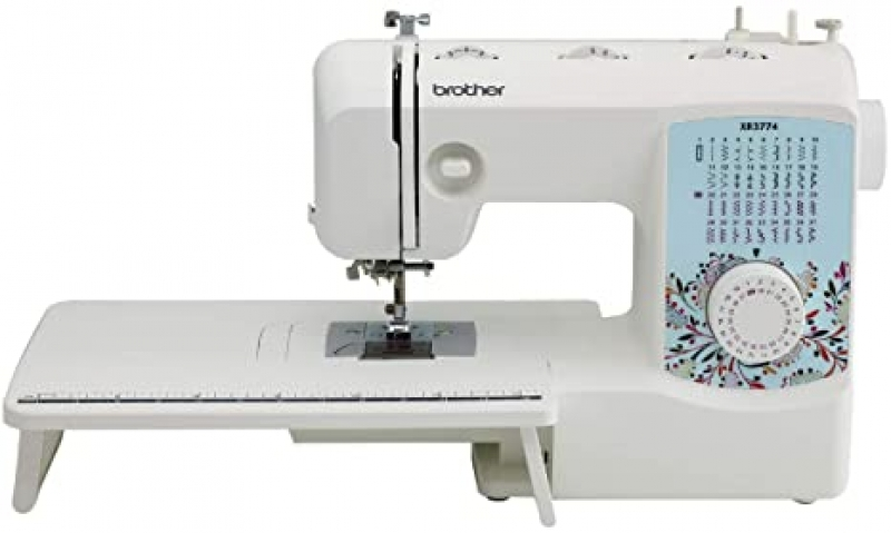 ihocon: Brother Sewing and Quilting Machine, XR3774, 37 Built-in Stitches, Wide Table, 8 Included Sewing Feet 拼布縫紉機