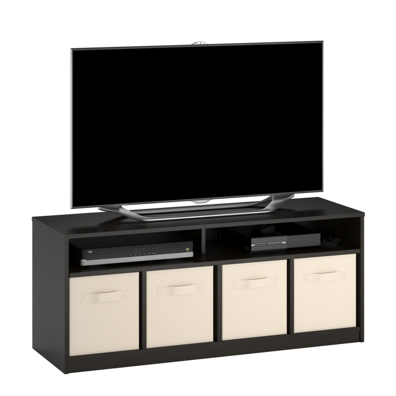 ihocon: Mainstays 4 Cube TV Console for TVs Up to 59 電視櫃