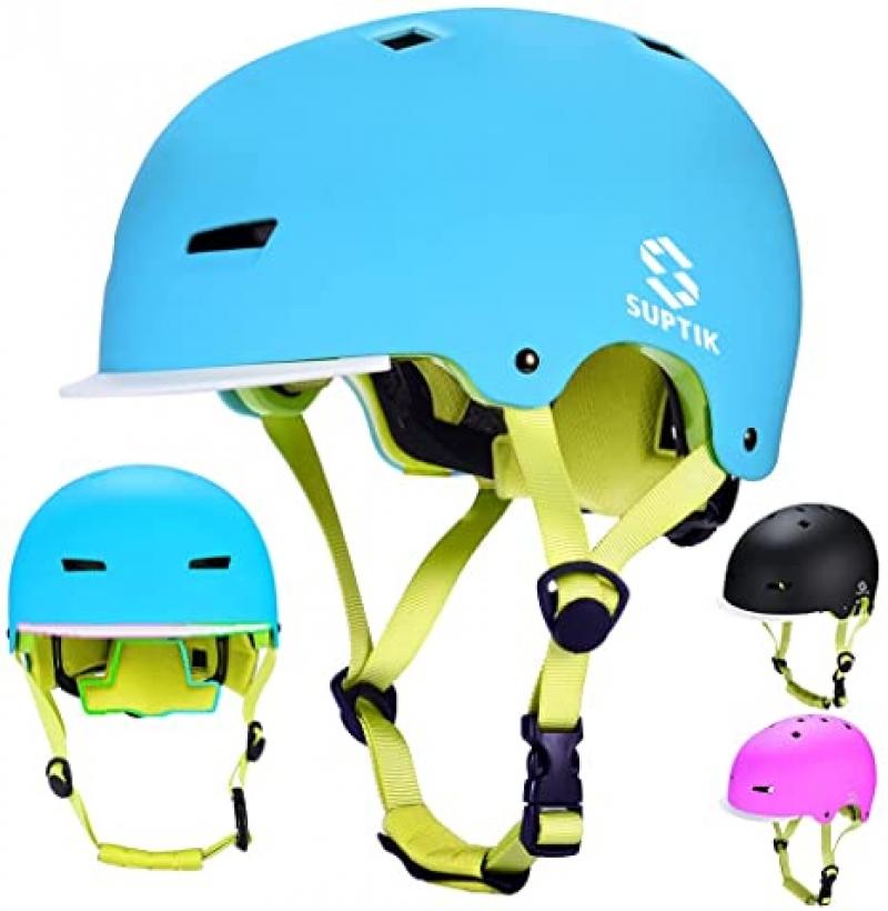 ihocon: SUPTIK Kids Bike Helmet, Ages 3-8  兒童安全頭盔