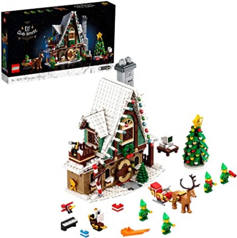 ihocon: [2021新上巿] LEGO Elf Club House (10275) Building Kit, New 2021 (1,197 Pieces)