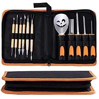 ihocon: Halloween Pumpkin Carving Tools Kit?Jack-O'-Lantern 11 Pcs 萬聖節南瓜雕刻工具