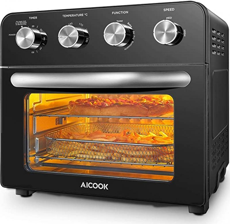 ihocon: cooka 10-in-1 Air Fryer Oven, 24 QT 氣炸小烤箱