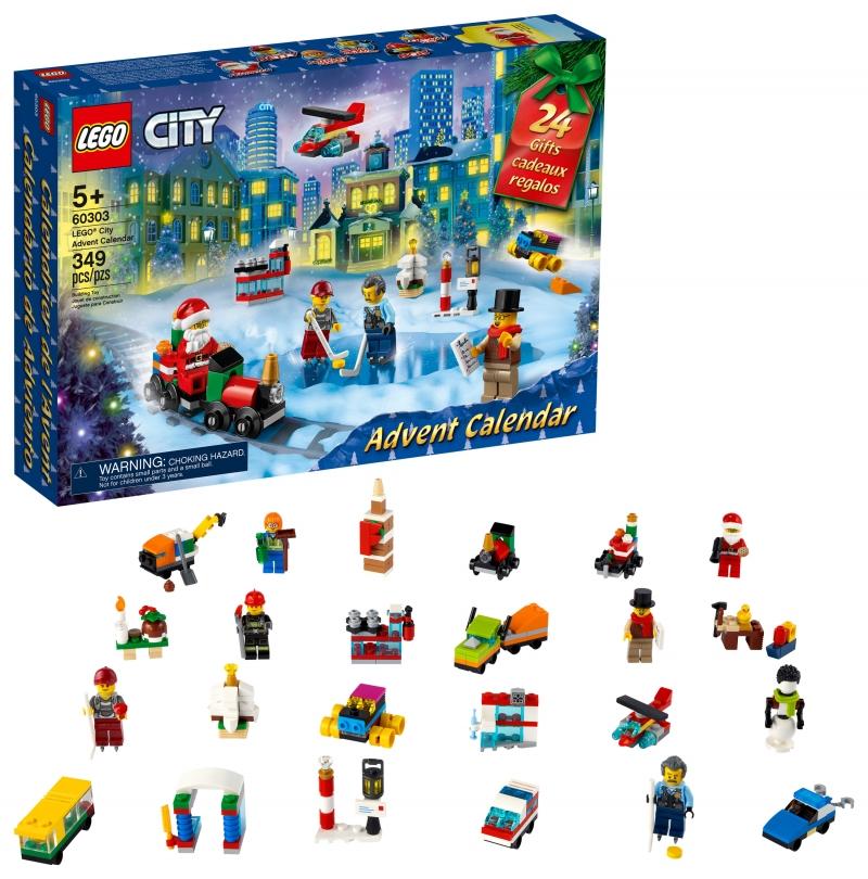 ihocon: 樂高積木LEGO City Advent Calendar 60303 Building Toy (349 Pieces)