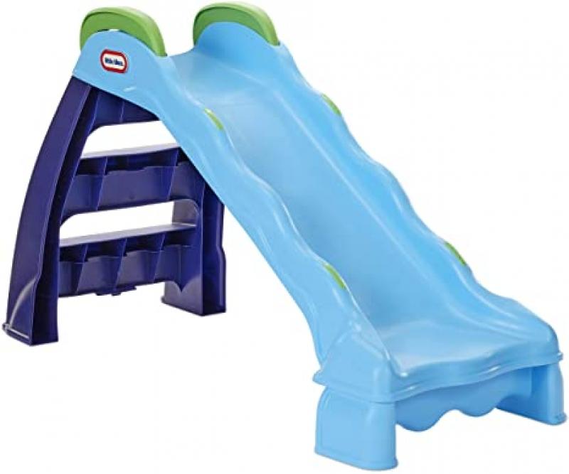 ihocon: Little Tikes 2-in-1 Indoor-Outdoor Wet or Dry Slide 滑滑梯