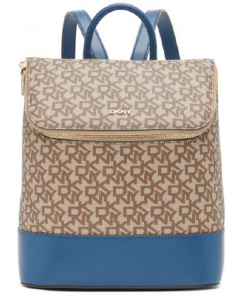 ihocon: DKNY Bryant Signature Top Zip Backpack 背包