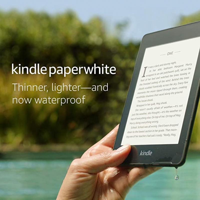ihocon: Kindle Paperwhite – Now Waterproof with more than 2x the Storage