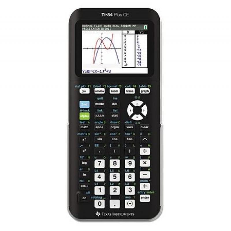 ihocon: Texas Instruments Ti-84 Plus Ce Graphing Calculator 繪圖計算機