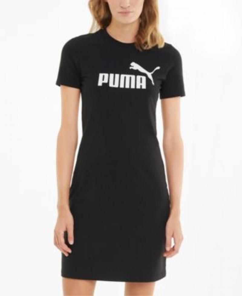 ihocon: Puma Logo T-Shirt Dress 女士連衣裙-多色可選