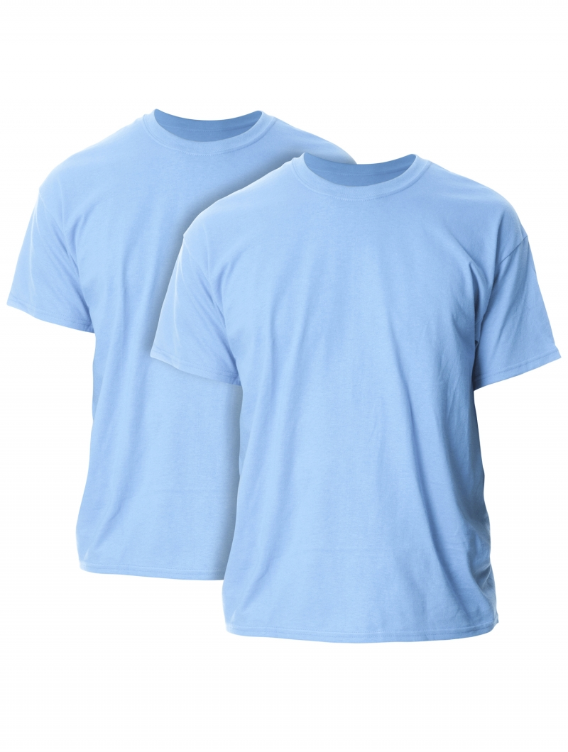 ihocon: Gildan Mens and Big Mens Ultra Cotton T-Shirt, 2-Pack 男士棉衫2件-多色可選(尺寸:S-3XL)