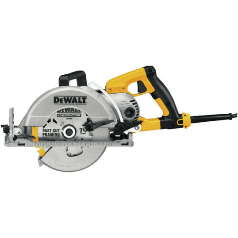 ihocon: DEWALT DWS535B 120V 15 Amp 7-1/4 Worm Drive Circular Saw w/Electric Brake 電動圓鋸