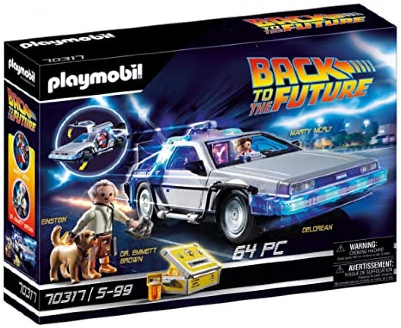 ihocon: Playmobil Back to The Future Delorean  回到未來電動組合玩具