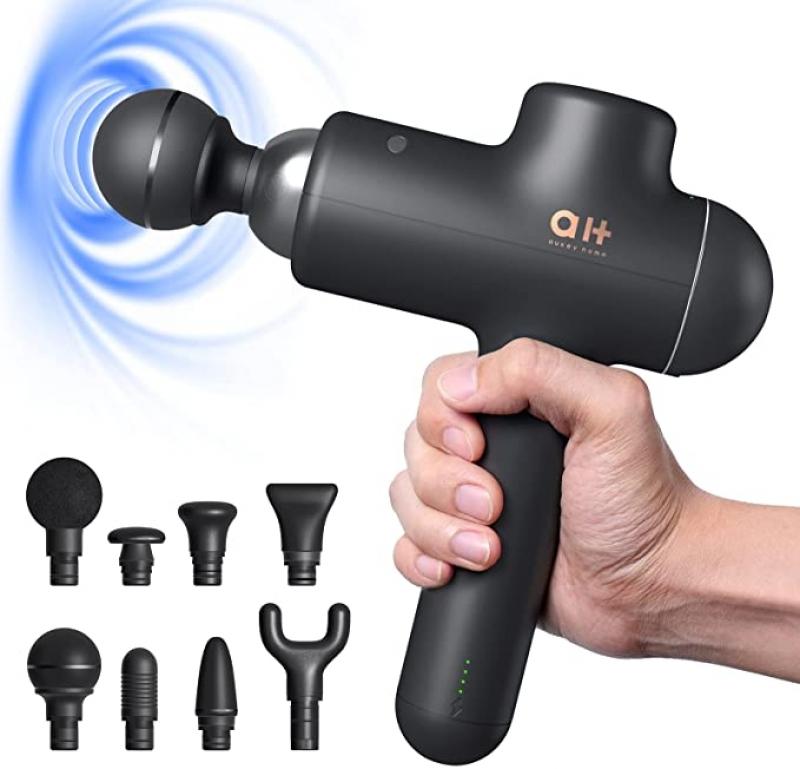 ihocon: AUKEY Massage Gun for Athletes 深層按磨槍, 含8個按摩頭