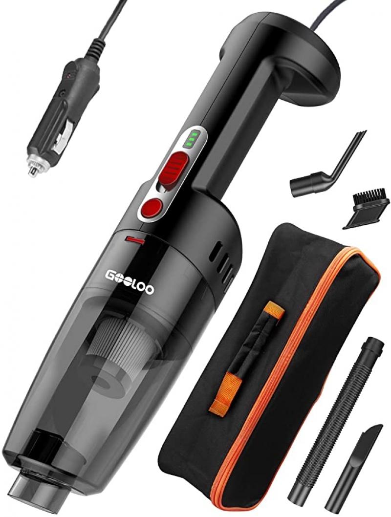 ihocon: GOOLOO Car Vacuum Cleaner 汽車手持吸塵器