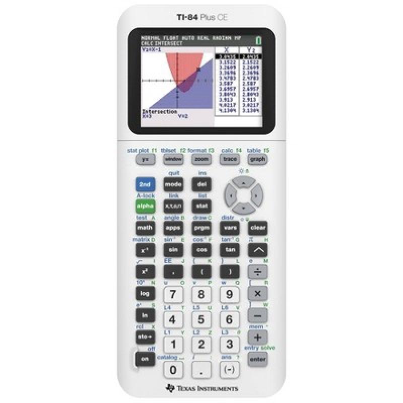 ihocon: Texas Instruments 84 Plus CE Graphing Calculator 繪圖計算機