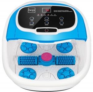 ihocon: Best Choice Products Automatic Heated Shiatsu Massage Foot Bath Spa w/ Pumice Stone 加熱按摩泡腳盆