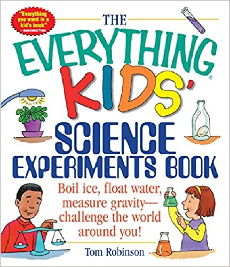 ihocon: [兒童科學實驗書] The Everything Kids' Science Experiments Book