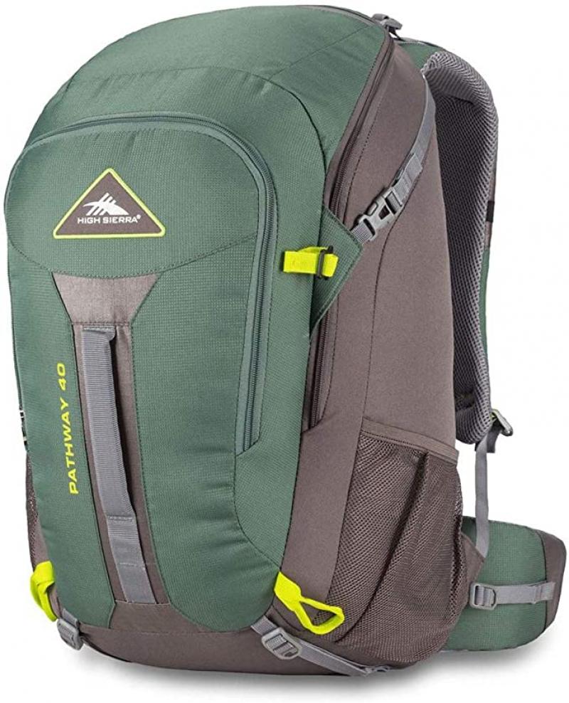 ihocon: High Sierra Pathway Internal Frame Hiking Backpack, 40L  內支架登山背包