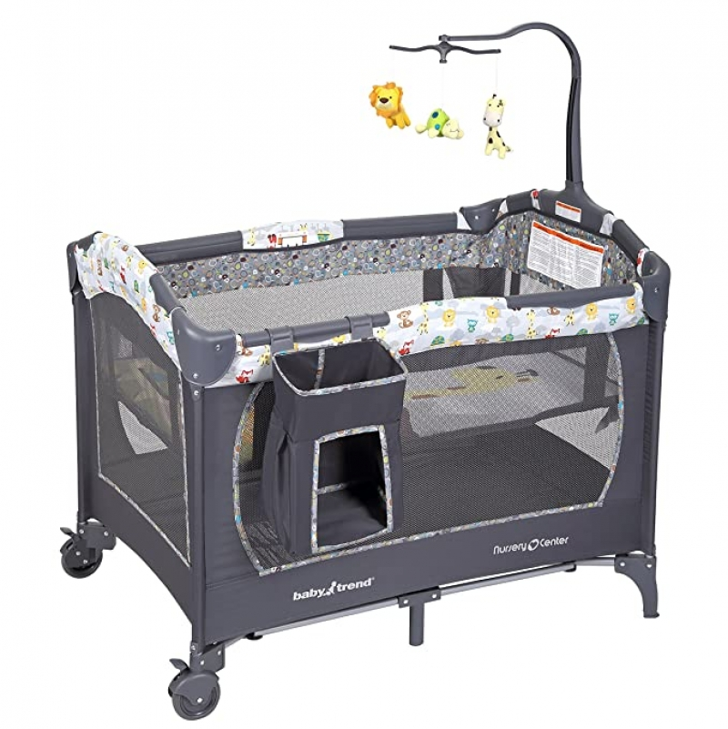 ihocon: Baby Trend Nursery Center 嬰兒遊戲床