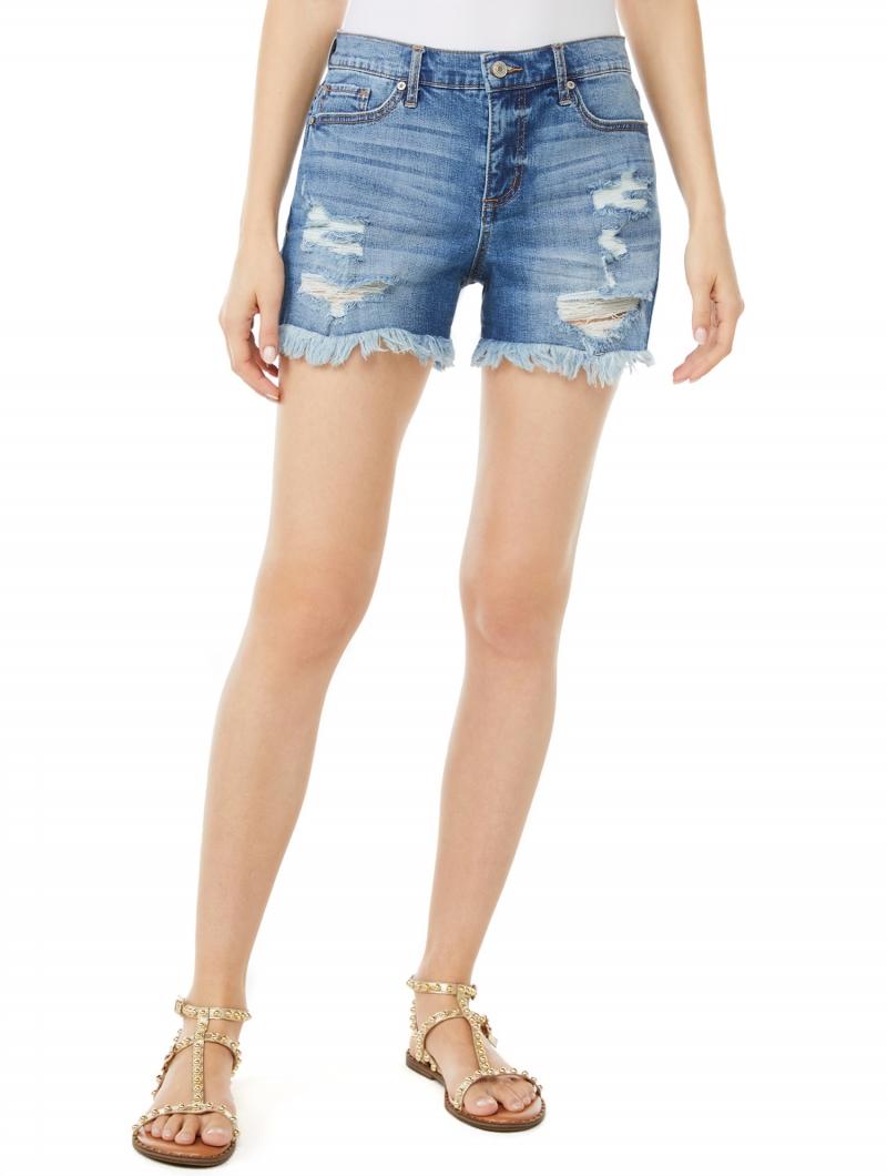 ihocon: Scoop Women's Retro Boy Shorts  女士牛仔短褲
