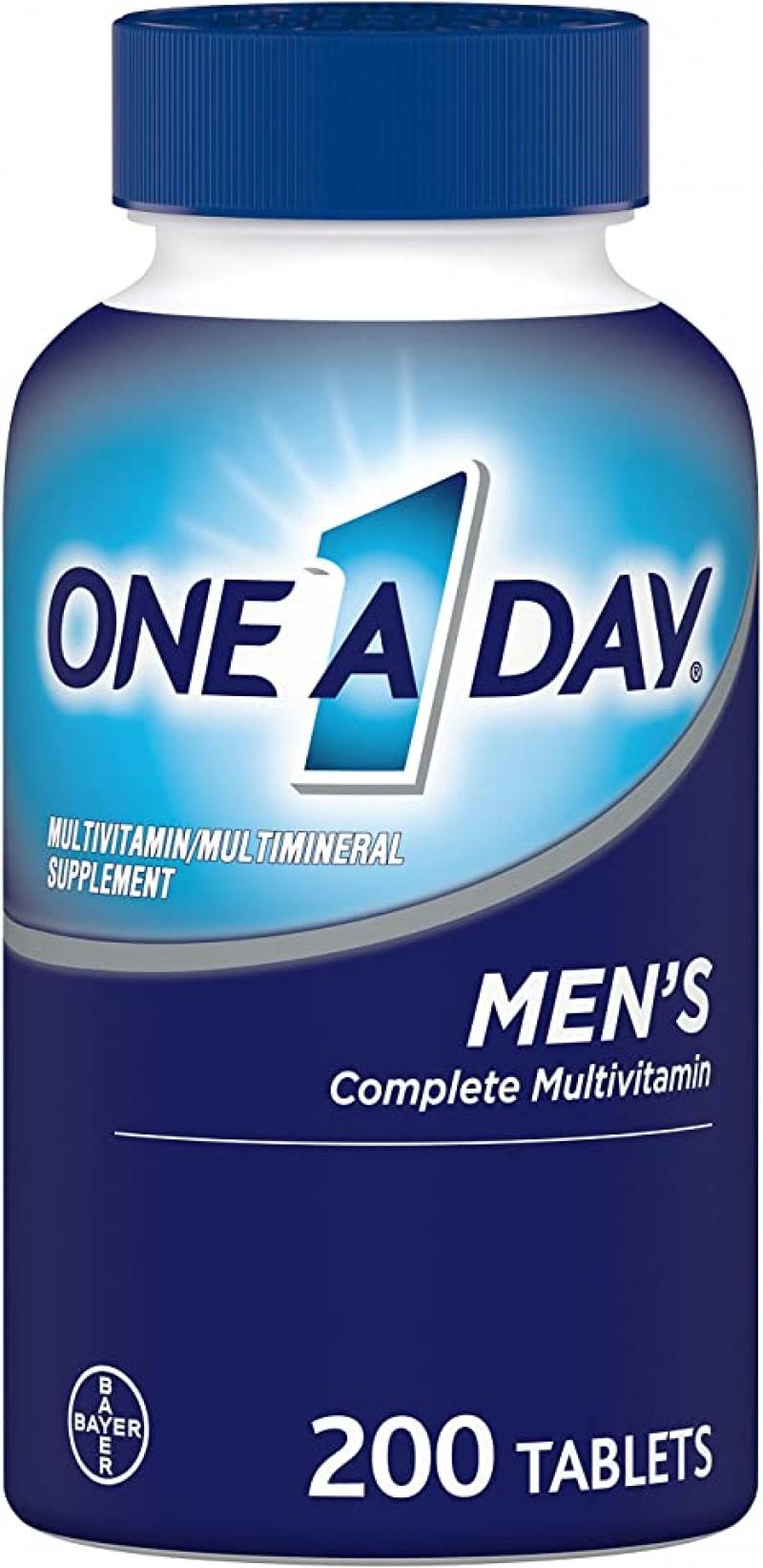 ihocon: One A Day Men's Multivitamin, 200 count 男士綜合維他命