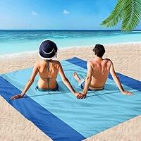 ihocon: MIMITOOU Beach Blanket 79X60吋 防水沙灘毯/野餐毯