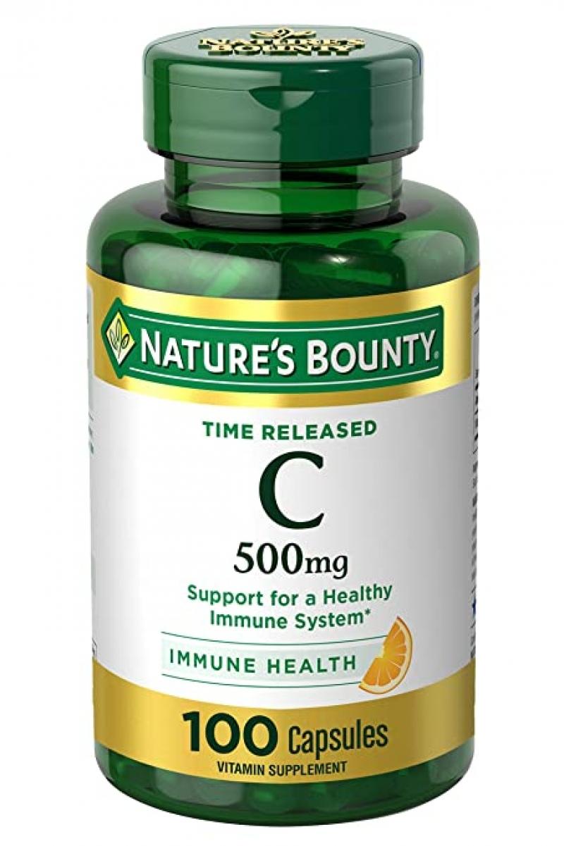 ihocon: Nature's Bounty Vitamin C, 500mg, 100 Count