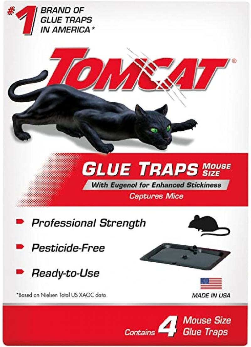ihocon: Tomcat 032310 Household Pests, 4 PK  粘鼠器 4個