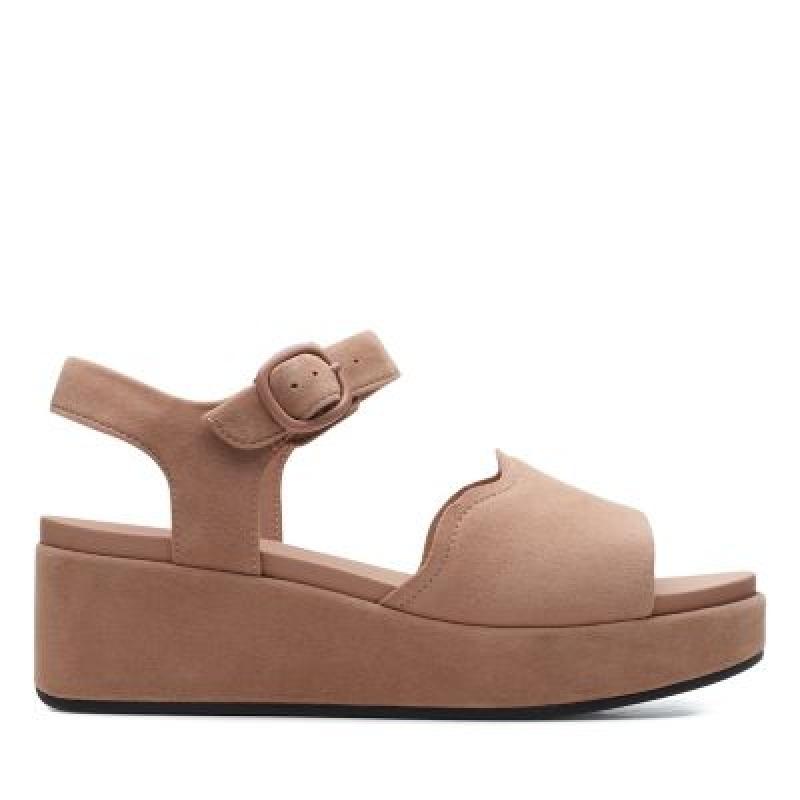 ihocon: Kimmei WayDark Blush Sde 女士涼鞋